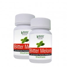 Bitter Melon Capsules 60's  (Pack of Two)