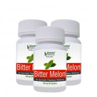 Bitter Melon Capsules 60's (Pack of Three)