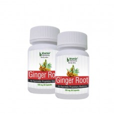 Ginger Root Capsules 60's (Pack of Two)