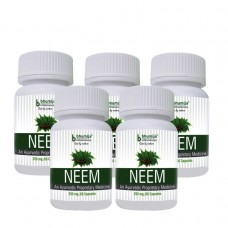 Neem Capsules 60's (Pack of Five)