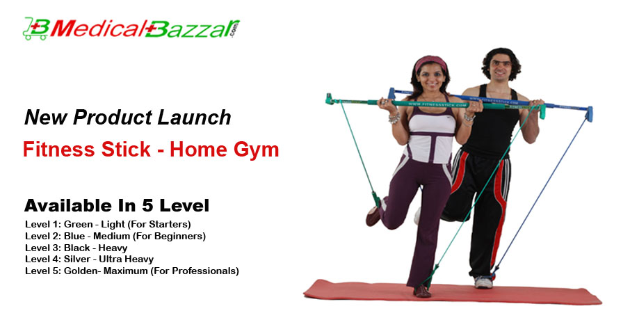 Fitness Stick a Home Gym