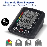 MCP Talking with Backlight and charging USB port Digital BP Blood Pressure Monitor