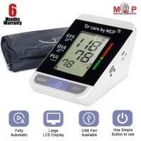 MCP Automatic Digital BP monitor Blood pressure measuring machine with Usb Port
