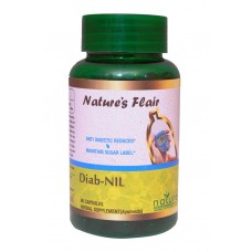 Nature's Flair DIAB-NIL  - 90 Capsules
