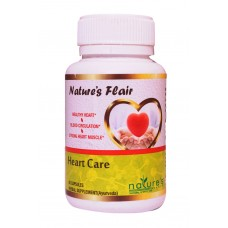 Nature's Flair Heart Care - 90 Capsules