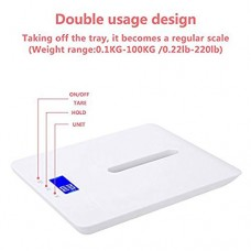 MCP Digital Baby Weighing Scale infant and Adult body weight upto 100kg with Baby Tray
