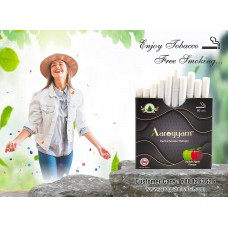 Aarogyam Herbals Tobacco and Nicotine Free Herbal Flavour Smokes For Relieving Stress - 10 Sticks in each Packet (DOUBLE APPLE, 1 Packet)