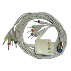 10 Leads ECG Cable Compatible with Uniem Centronic Connector