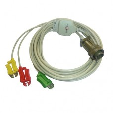 3 Lead ECG Cable Compatible with BPL (BSM, Defib)