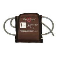 Bp Cuff With D-Ring For Electronic Bp Apparatus 22-42 cm (Dark Brown)