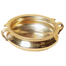 "Bronze Polished Wrap - 5"" dia (Kalabha Kinnam)"
