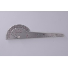 Therapy Plus™ Digit Finger Goniometer Stainless Steel - Pack of 1 Pcs