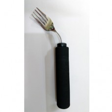 Sunrise Thick Handle Bendable Fork - Black - Pack of 1 Pcs