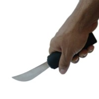 Sunrise Thick Handle Rocker Knife - Black - Pack of 1 Pcs
