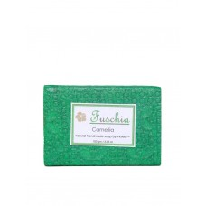 Fuschia - Camellia Natural Handmade Glycerine Soap (Green Tea)