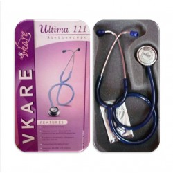 Adult Stainless Steel Stethoscope - Ultima 111