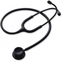 Adult Stainless Steel Stethoscope Black
