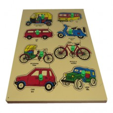 "Wooden Road Transport Tray (Size 9""X12"")"