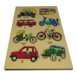 """Wooden Road Transport Tray (Size 9""""X12"""")"""