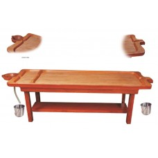 Wooden TRADITIONAL MASSAGE cum SHIRODHARA TABLE