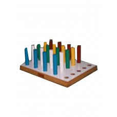 ROUND PEG BOARD (20 Pegs)