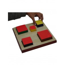 SIZE PERCEPTION SQUARE BOARD SET