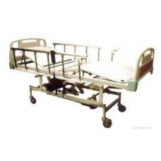 ICU Bed Electric (ABS Panels with Collapsable Side Railling)