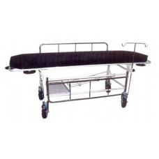 STRETCHER ON TROLLEY WITH MATRESS