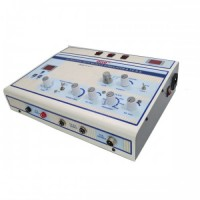 Acco Muscle Stimulator With Tens Machine and Ultrasound Machine(US+TENS+MS)