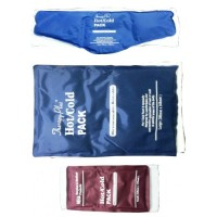 Hot & Cold Gel Pack (Microwaveable) with Towel Cover (Contour)