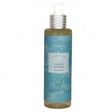 Mantra Gold And Saffron Glowing Face Gel With Mantra Jasmine And Neem Body Wash 250 Ml