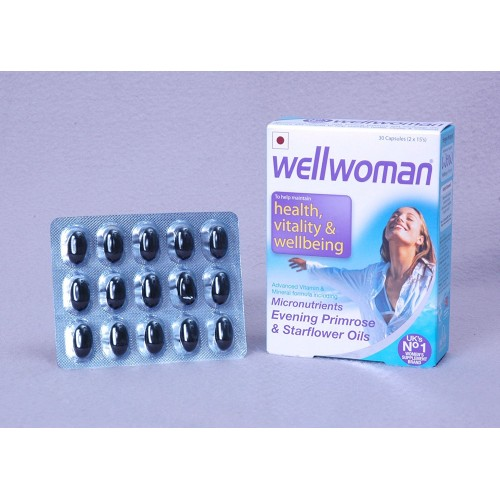 Buy Wellwoman 30 Capsules 2x15 S Rs 2 499 Medicalbazzar