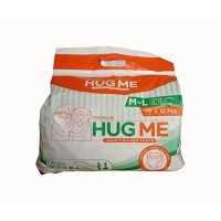 HUG ME Adult Diaper Pants Style Medium (Pack of 3)