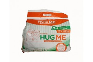 HUG ME Adult Diaper Pants Style Large (Pack of 2)