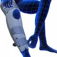 """Tynor Comfortable Knee Immobilizer Length 19""""- Large"""