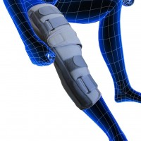 """Tynor Comfortable Knee Immobilizer Length 19""""- Small"""