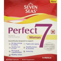 Seven Seas Perfect7 Woman Multivitamin & Multimineral Supplement - Pack Of 30