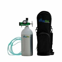OxyGo Portable Ultra Light Medical Oxygen Cylinder Kit (170 Litre)