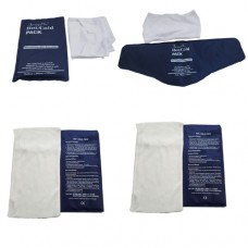 Hot & Cold Gel Pack (Microwaveable) with Towel Cover (Set of 4)