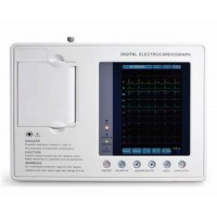 "acco ECG Machine Three Channel (7"" Screen Size)"