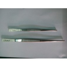 "Apex Toothed Forceps (2pcs.6"", 2pcs.8"") Set of 4 pcs"