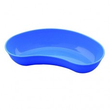 "KIDNEY TRAY 10"" PLASTIC BLUE (SET OF 3 PC.) BY APEX"