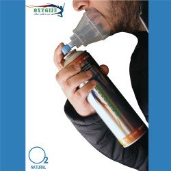 OXYGIZE Portable Oxygen Cylinder with Inbuilt mask, 10 Ltr (Pack of 10)
