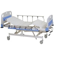 ICU Bed Mechanically (ABS Panels & Collapsible Side Railing)