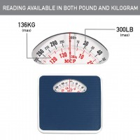 MCP High Precision Analogue Mechanical Personal Body Weighing Scale Machine