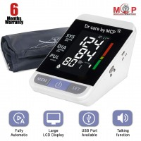 MCP BP115 Digital Talking Blood Pressure Checking Machine BP monitor with Zebra Lights