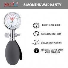 Mcp Palm Type Aneroid Sphygmomanometer Blood Pressure Monitor