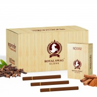 Royal Swag Herbal Cigarette CLOVE 100% Nicotine & Tobacco Free Cigarettes - Pack Of 2 (10 Sticks)
