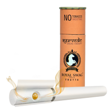 Royal Swag Herbal Cigarette FRUTTA 100% Nicotine & Tobacco Free Cigarettes - Pack Of 10 (50 Sticks)