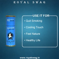 Royal Swag Herbal Cigarette MCT MINT 100% Nicotine & Tobacco Free Cigarettes - Pack Of  2 (10 Sticks)